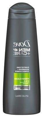 Dove Men+Care Fresh Clean 2 in 1 Shampoo and Conditioner 12