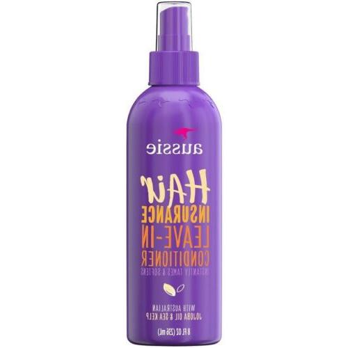 AUSSIE CONDITIONER HAIR INSURANCE LEAVE-IN SPRAY 8 Ounce