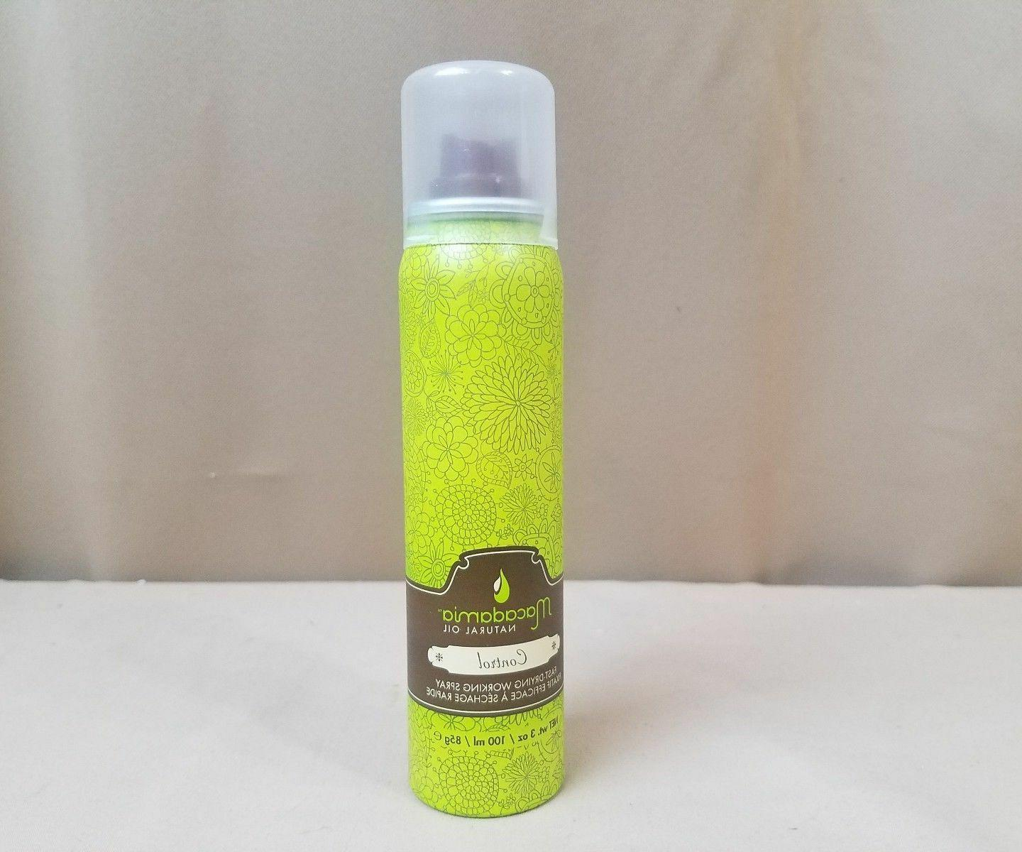 Macadamia Natural Oil Control Fast Drying Working Hair Spray