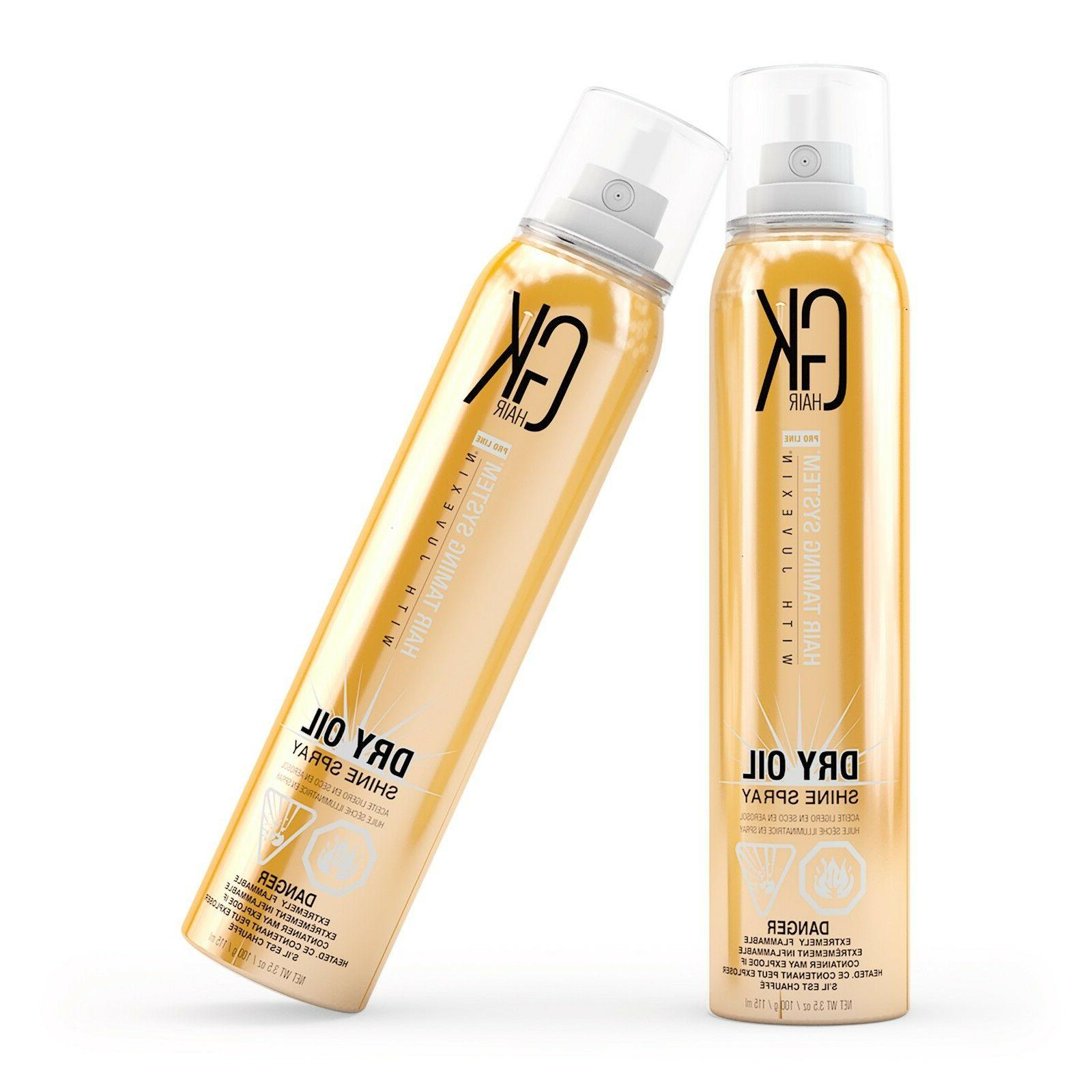 GKhair Dry Oil Shine Keratin Frizz Shining 3.8oz