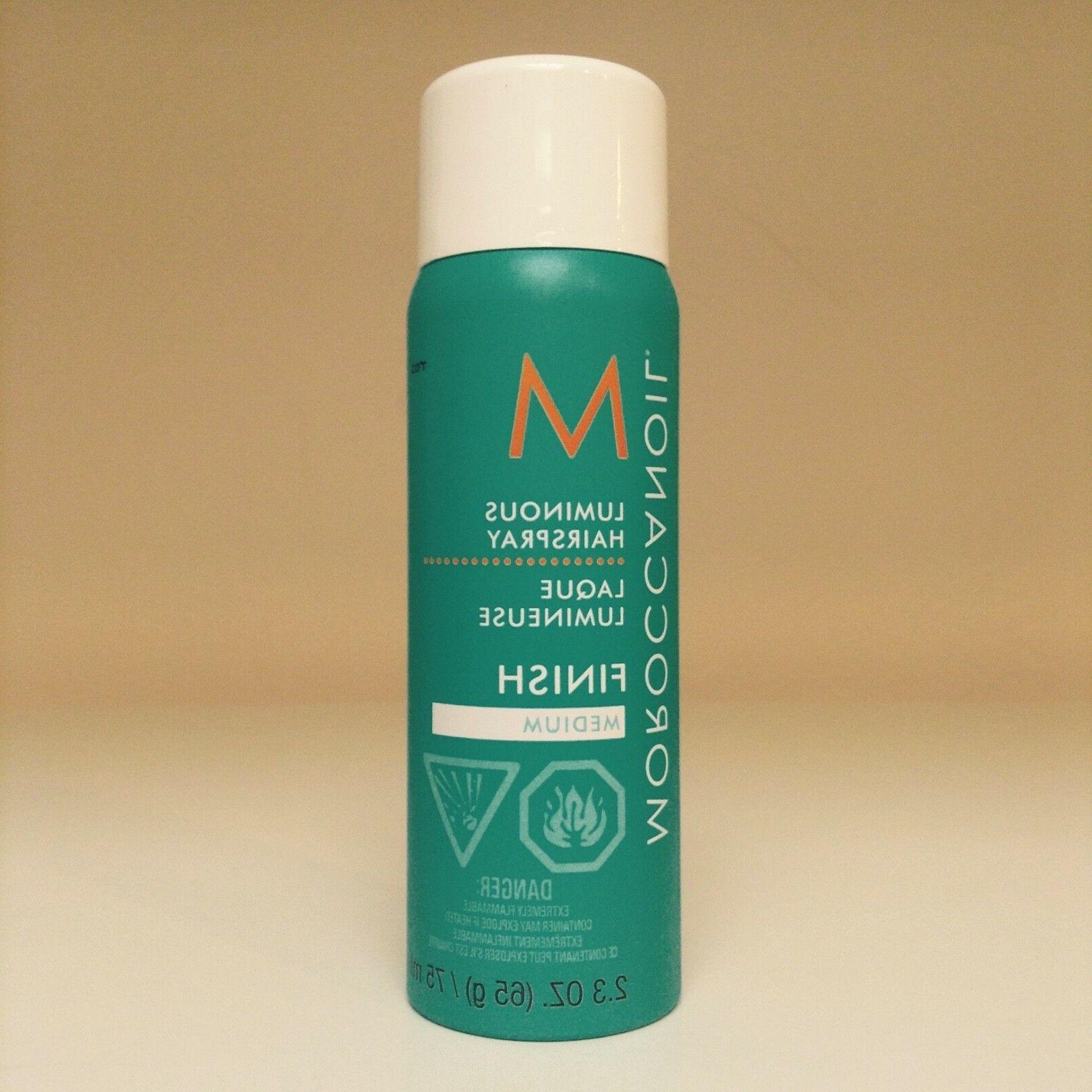 Moroccanoil Finish Luminous Hairspray MEDIUM ~ Travel Size 2