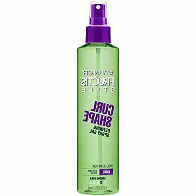 fructis style curl shape defining spray gel