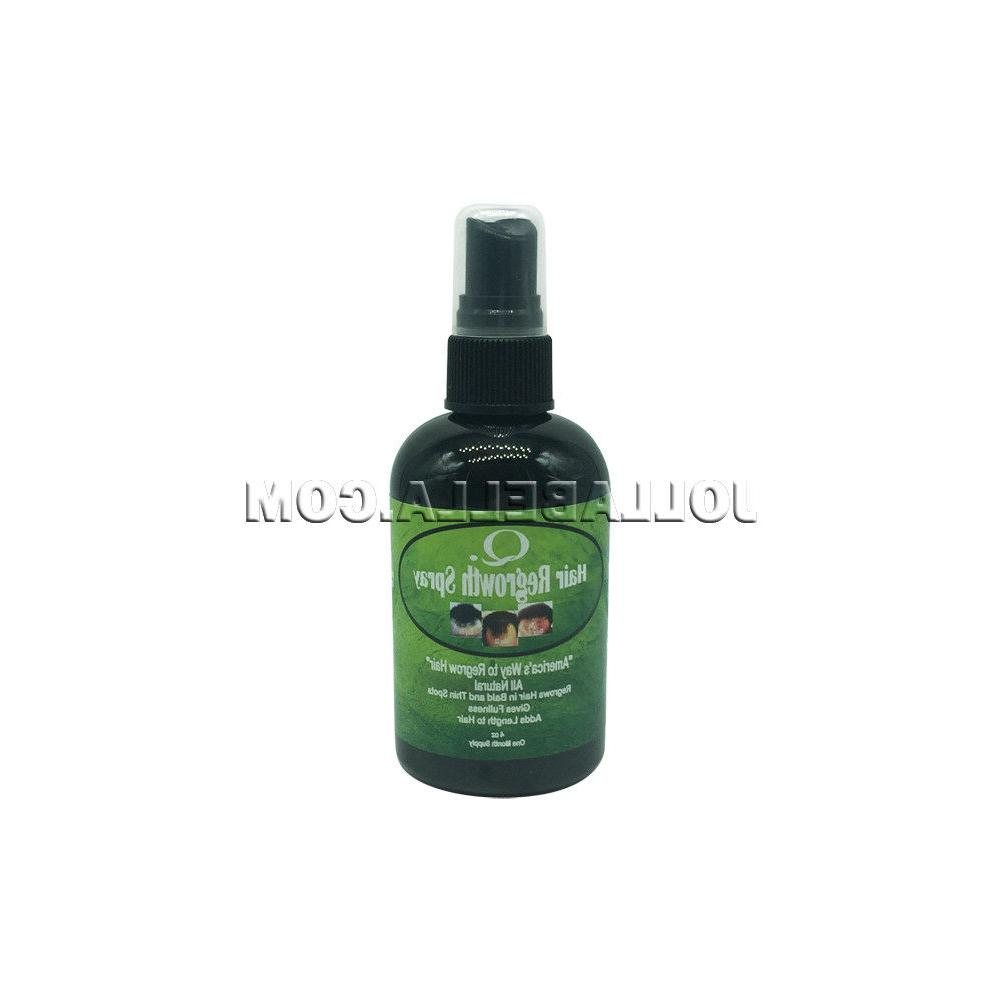Q Hair Regrowth Spray All Natural Hair & Scalp Treatment
