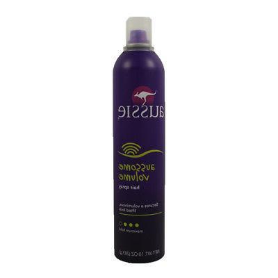 hair spray aussome volume maximum hold 10