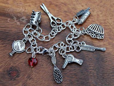 Hair Silver Bracelet hair dryer, spray,