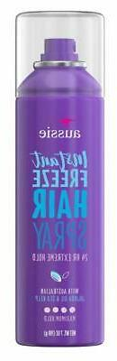 Aussie Instant Freeze Hair Spray Extreme Hold 7oz
