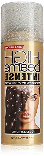 high beams Intense Temporary Spray on Hair Color, Multi Glit