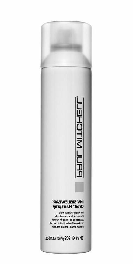 invisiblewear orbit hairspray dry finish natural hold