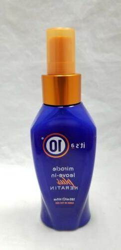 It's a 10 Haircare Miracle Leave-In Plus Keratin, 4 fl. oz