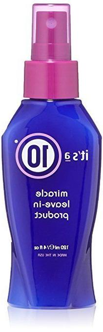 Its a 10 by It's a 10 Miracle Leave in Product 4 OZ NEW UNUS