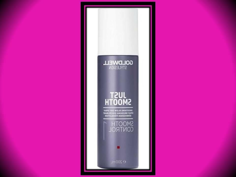 GOLDWELL JUST SMOOTH HAIRSPRAY 6.7 OZ SMOOTHING BLOW DRY ANT