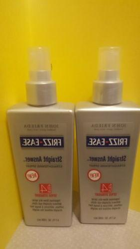 lot of 2 frizz ease straight answer