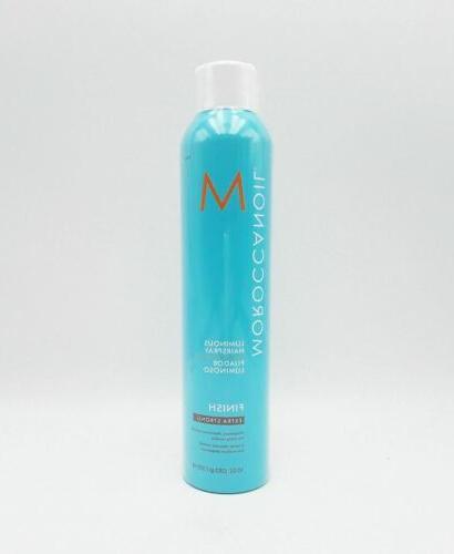 luminous hairspray extra strong hold finish 10