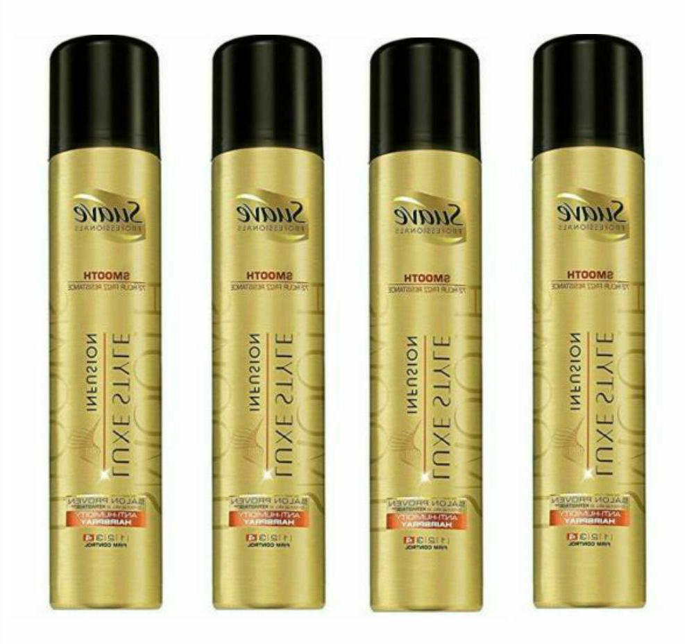 Suave Luxe Style Infusion Anti-Humidity Hair Spray 4 Firm Co