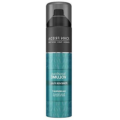 luxurious volume forever full hairspray for fine