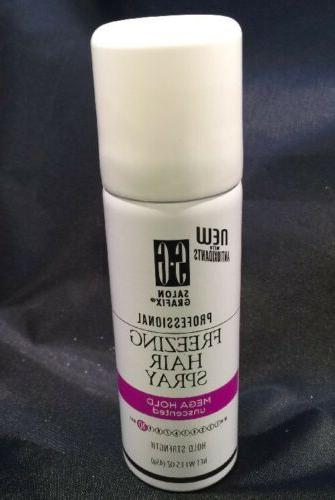 mega hold unscented freezing hair spray 1
