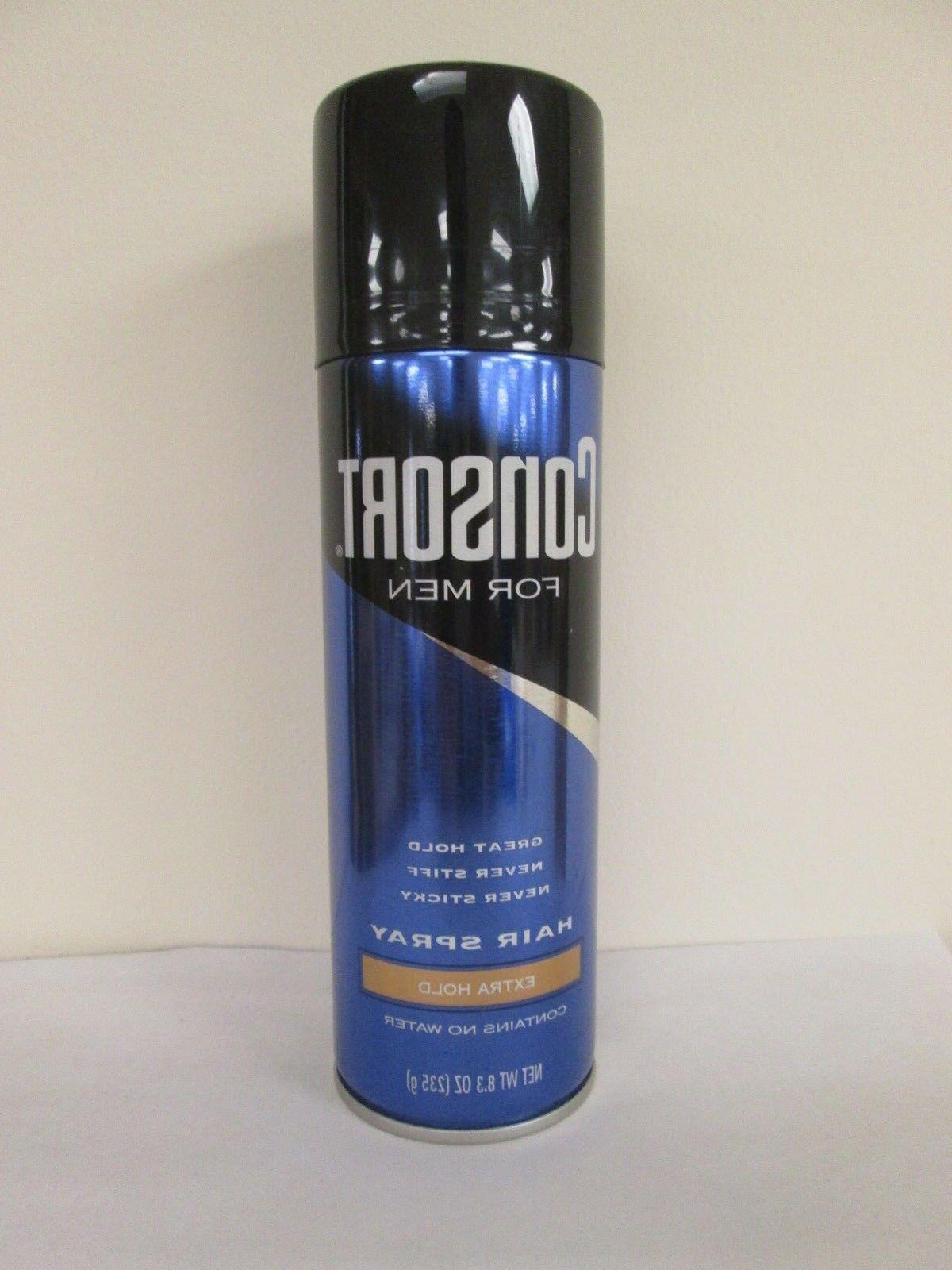 men extra hold hair spray aerosol