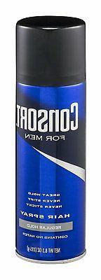 Consort For Men Hair Spray Aerosol Regular Hold No Water 8.3