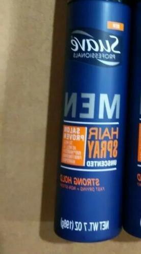 men hair spray unscented 7 oz strong