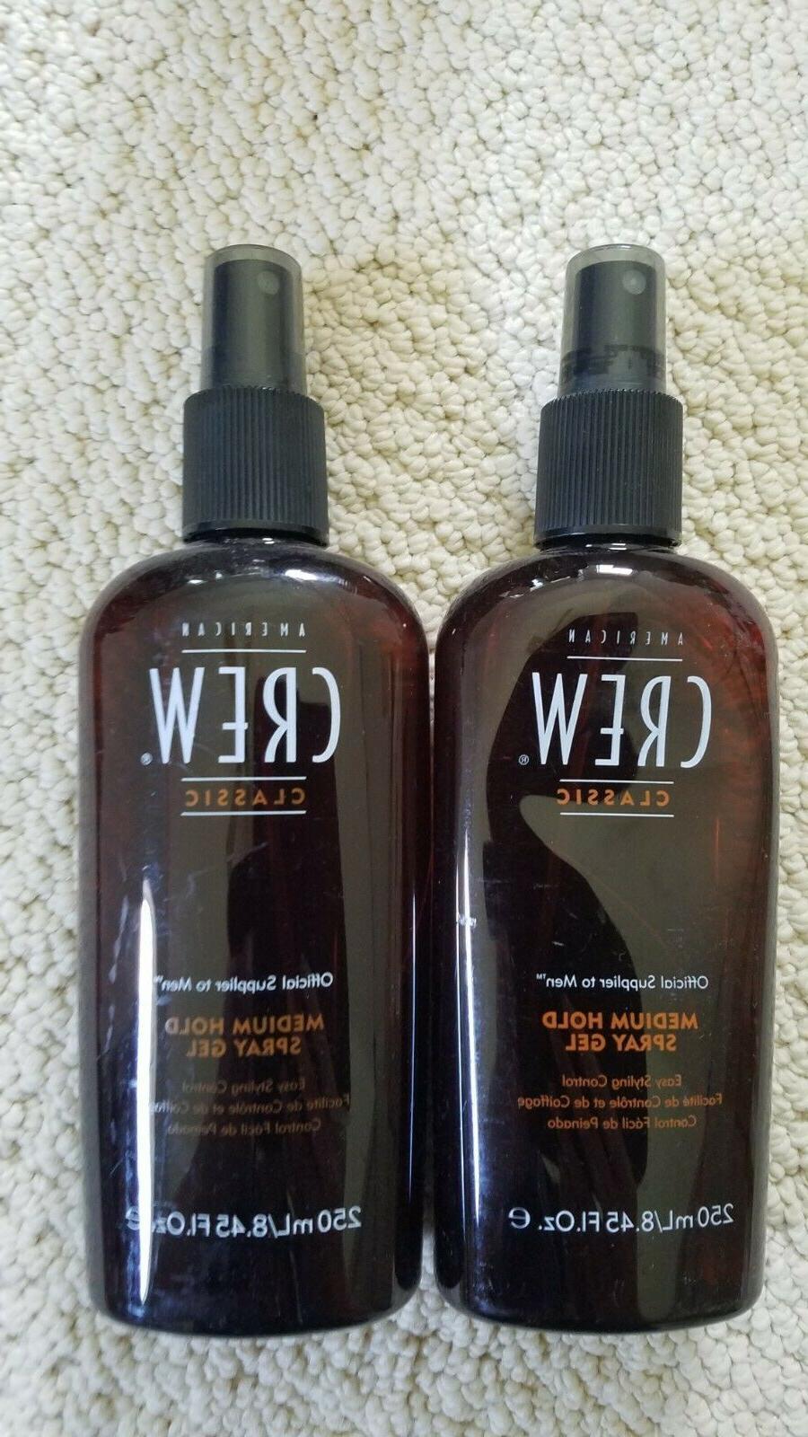men medium hold hair spray gel 8
