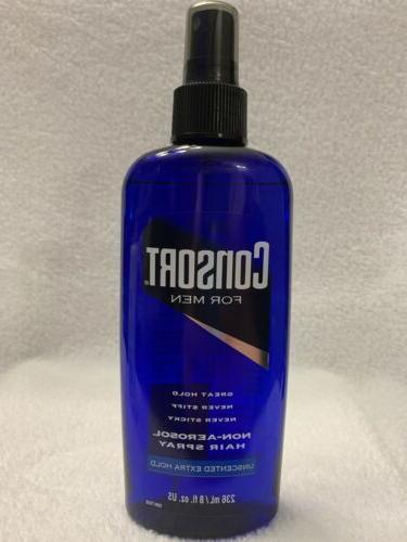 men non aerosol hair spray unscented