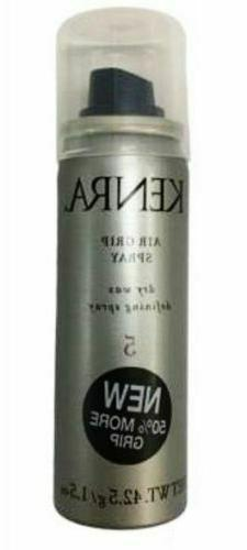NEW!!! KENRA #5 AIR GRIP DRY WAX 1.5 OZ DEFINING HAIR SPRAY