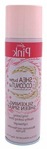 Luster's Pink Coconut Oil/Shea Butter Silk Sheen Spray, 15.5