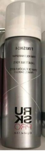 RUSK Pro Finish04 Hairspray 1.5oz/43g Travel Size Ruskpro Fi