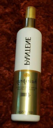 Pantene Pro-V Extra Strong Hold #4 Hair Spray 8.5 oz Builds