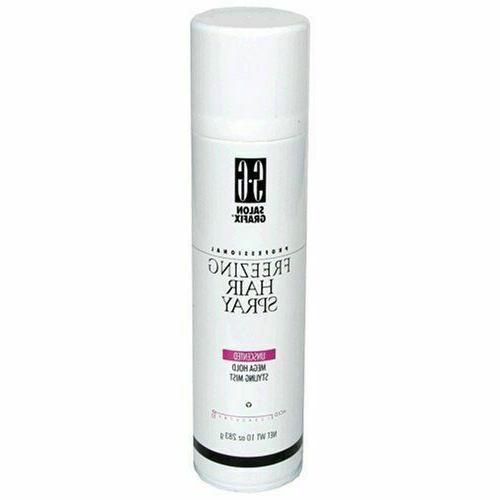 professional freezing hair spray unscented mega hold
