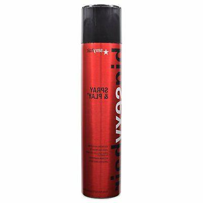 sexy big spray and play volumizing hairspray