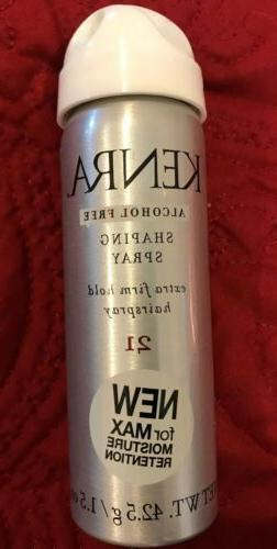 Kenra Shaping Spray Extra Firm Hold Hairspray 1.5 fl. oz. Tr