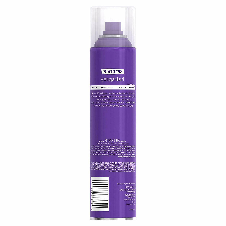 Aussie Aerosol Hairspray 10 Oz
