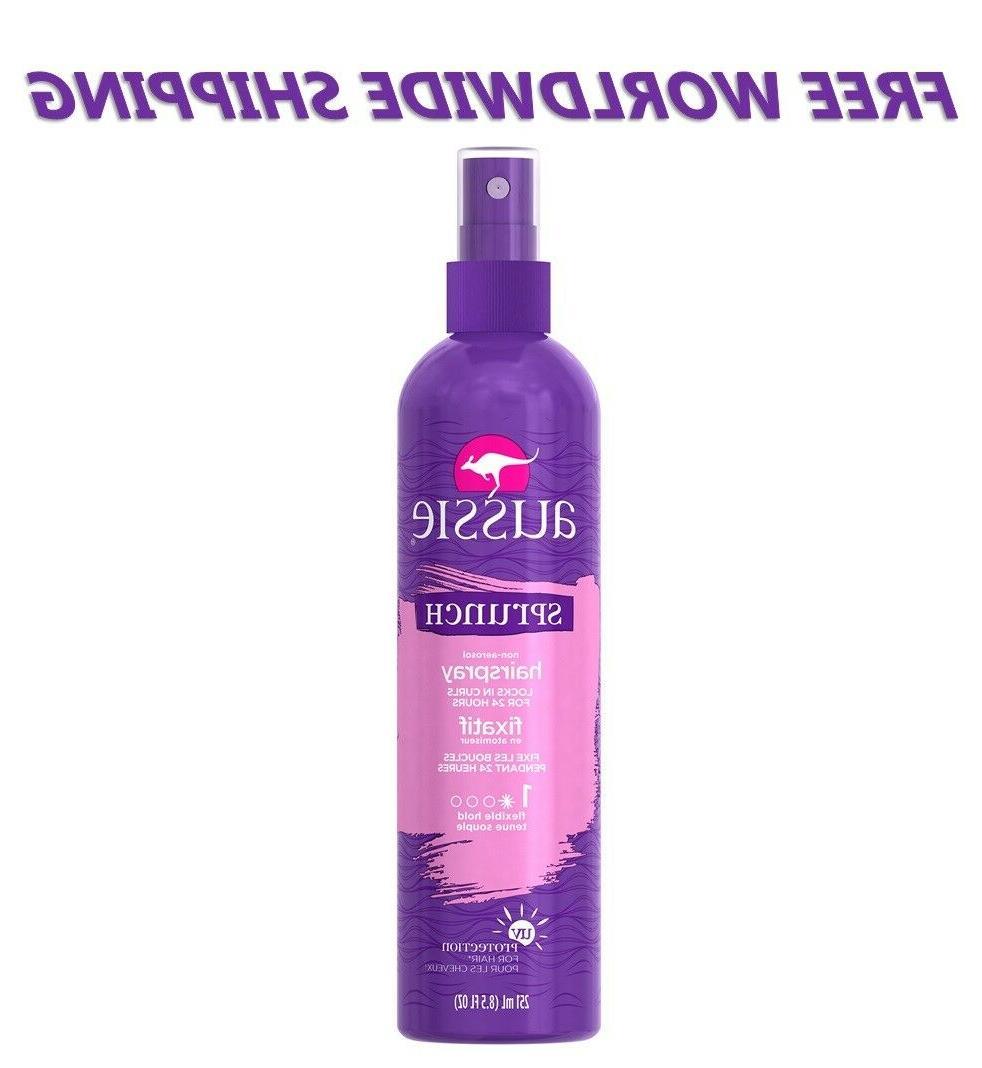 sprunch fixatif hairspray non aerosol 8 5