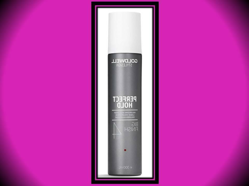 GOLDWELL STYLE DESIGN PERFECT # 4 HOLD BIG FINISH HAIR SPRAY