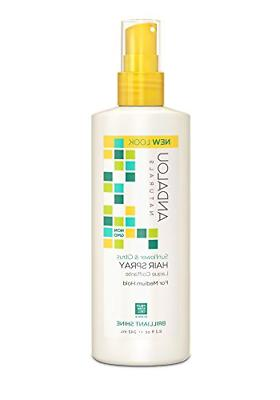 Andalou Naturals Sunflower & Citrus Brilliant Shine Hair Spr