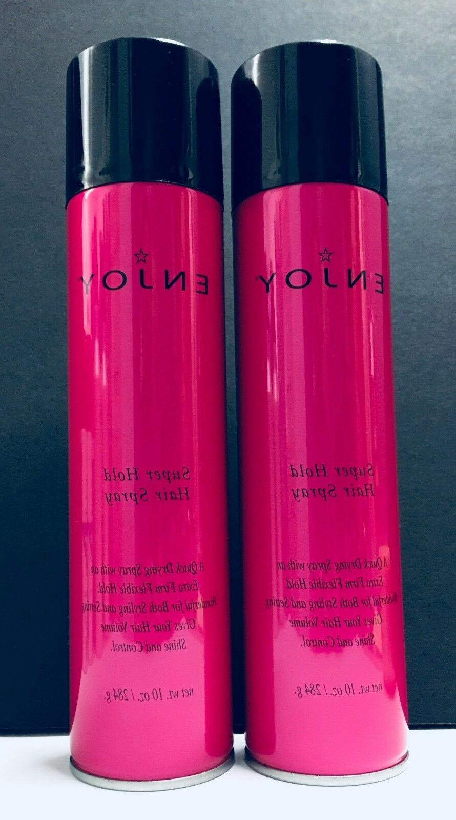 super hold hair spray from 2pc 10