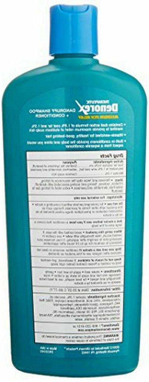 Denorex Maximum Relief, Dandruff Shampoo plus Conditioner,