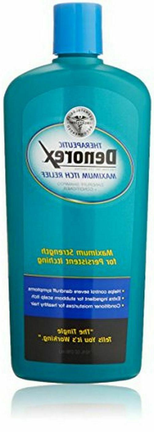 therapeutic maximum itch relief dandruff shampoo plus