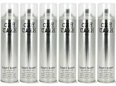 tigi bedhead hard head hairspray 6 pack