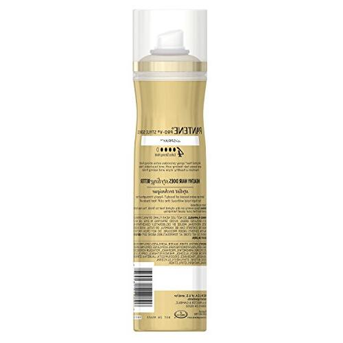 Pantene Pro-v Alcohol Free Hair Strong Hold,