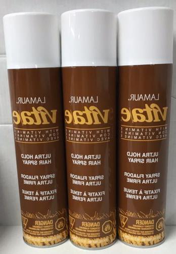 vita e ultra hold professional hair spray