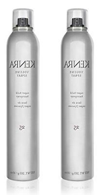 Kenra Volume Spray Hair Spray #25, 55% VOC, 10-Ounce 2-Pack