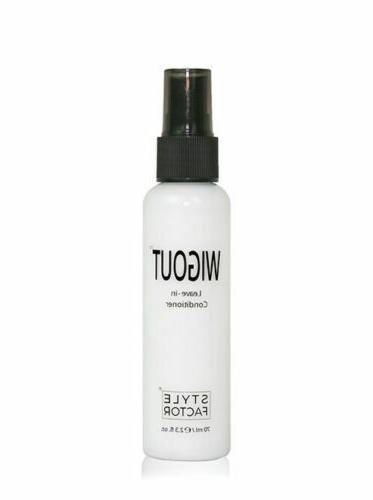 wigout leave in conditioner hair spray detangler