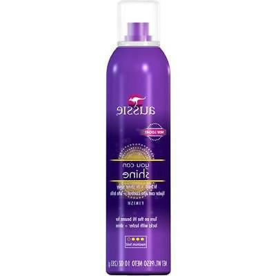 you can shine max hold hairspray 10oz