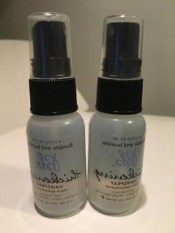 LOT 2 ~ Bumble and Bumble Thickening Hair Spray ~ Travel Siz