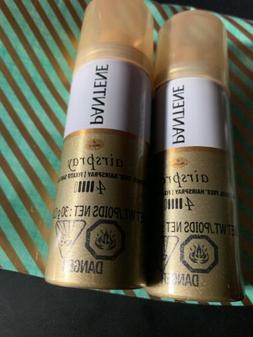 Lot of 2 Pantene Pro-V Extra Strong Hold Hair Spray 1 oz Fre