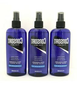 Lot Of 3 Consort for Men Hair Spray 8 oz Each Unscented Extr