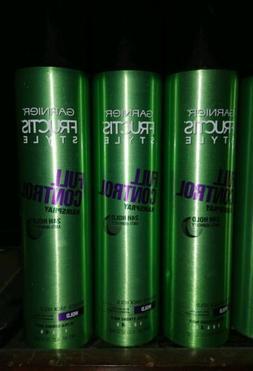 Lot of 3 GARNIER FRUCTIS STYLE full control anti- humidity h