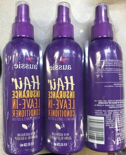 Lot Of 3 New Aussie Hair Insurance Leave In Conditioner Spra